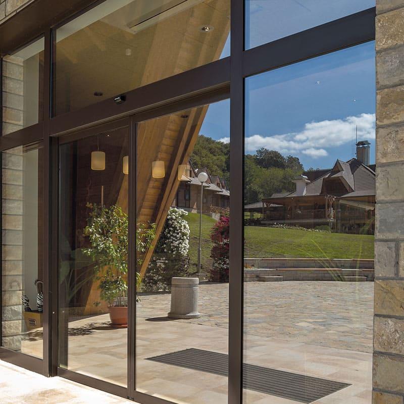 Sonnenschutzfolie für Fenster und Wintergarten
