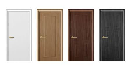 Alte Türen verschönern mit Türfolie