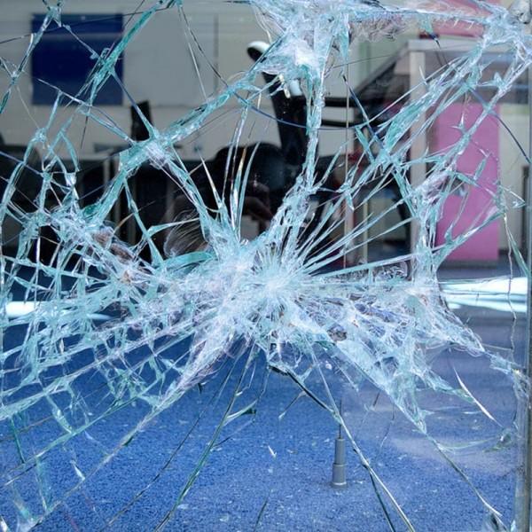 Splitterschutzfolie Klar Transparent - Sicherheitsfolie für Fenster & Türen