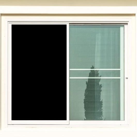 Fenster Verdunkelungsfolie Schwarz - Blackout Folie