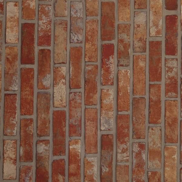Klebefolie Steinmauer Rot