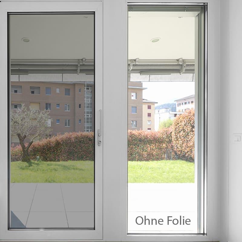 Spiegelfolie Einseitig Durchsichtig Spiegel Sichtschutzfolie Sunox De